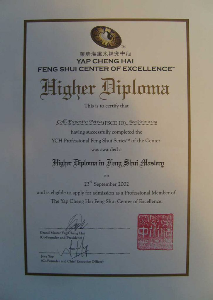 Feng Shui Education Certificate 726x1024 1